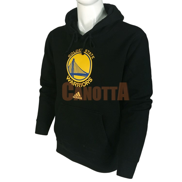 Replica Felpe Con Cappuccio NBA Golden State Warriors Nero City