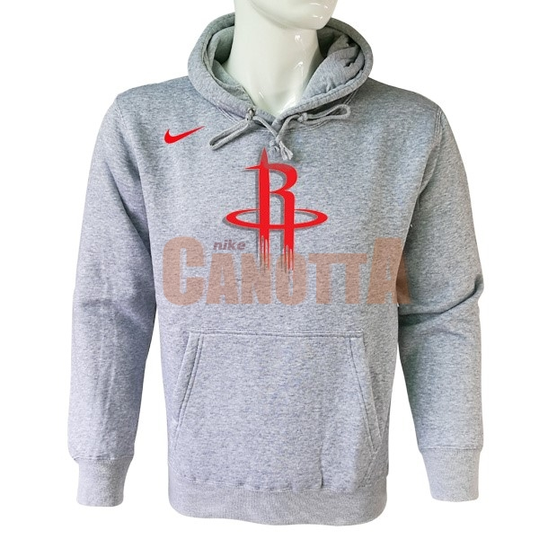 Replica Felpe Con Cappuccio NBA Houston Rockets Nike Grigio