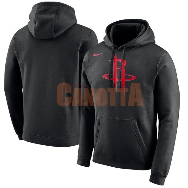 Replica Felpe Con Cappuccio NBA Houston Rockets Nike Nero