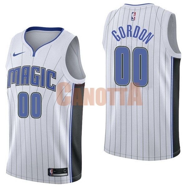 Replica Maglia NBA Nike Orlando Magic NO.0 Aaro Gordon Bianco Association