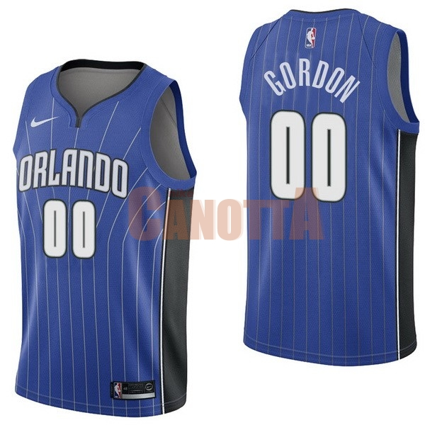 Replica Maglia NBA Nike Orlando Magic NO.0 Aaro Gordon Blu Icon