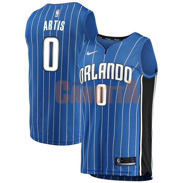 Replica Maglia NBA Nike Orlando Magic NO.0 Jamel Artis Blu Icon