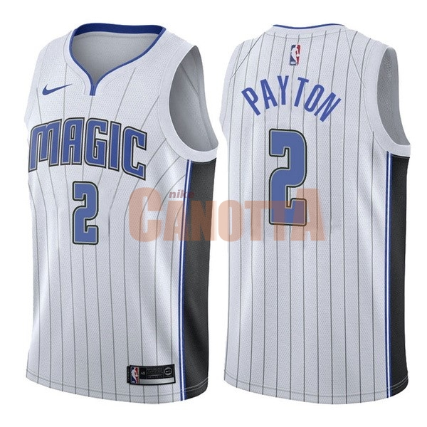 Replica Maglia NBA Nike Orlando Magic NO.2 Elfrid Payton Bianco Association