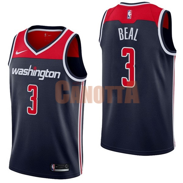 Replica Maglia NBA Nike Washington Wizards NO.3 Bradley Beal Marino Statement