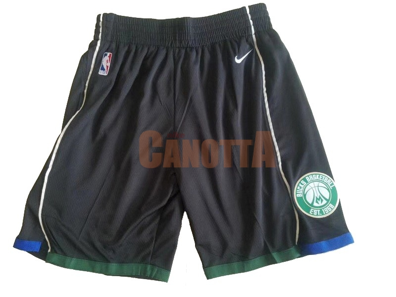 Replica Pantaloni Basket Brooklyn Nets Nike Nero
