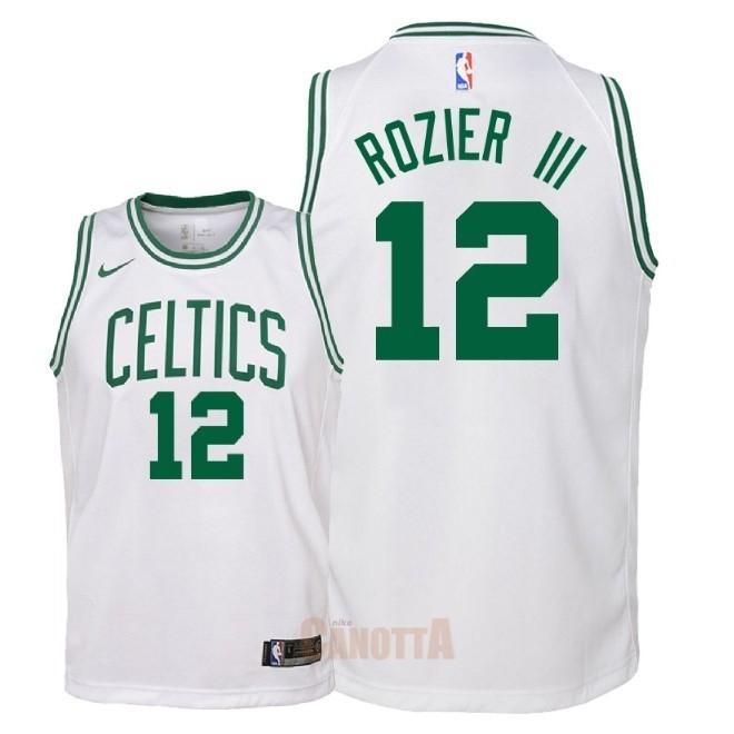 Replica Maglia NBA Bambino Boston Celtics NO.12 Terry Rozier III Bianco  Association 2018 83e23fea6f25