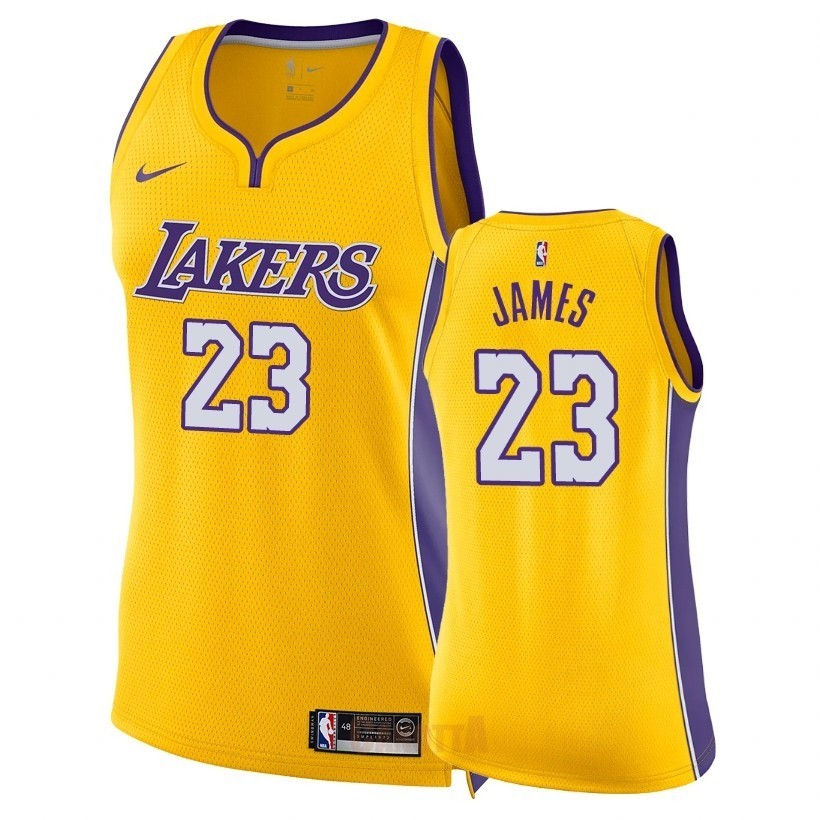 Replica No 23 Nba James Maglia Angeles Donna Lakers Lebron Los QCrdBWExoe