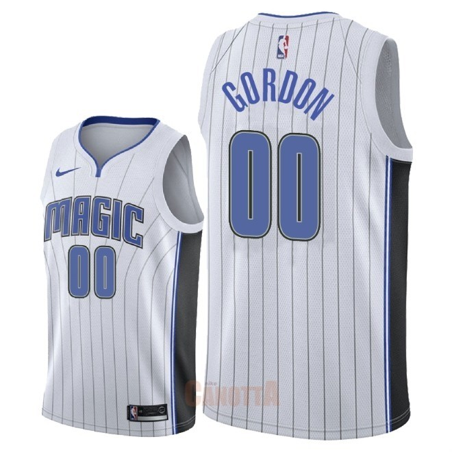 Replica Maglia NBA Nike Orlando Magic NO.0 Aaron Gordon Bianco Association 2018