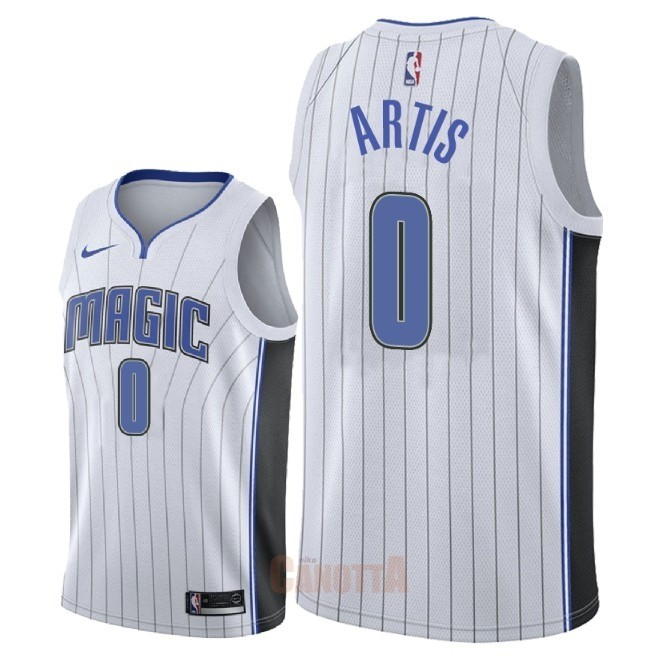 Replica Maglia NBA Nike Orlando Magic NO.0 Jamel Artis Bianco Association 2018