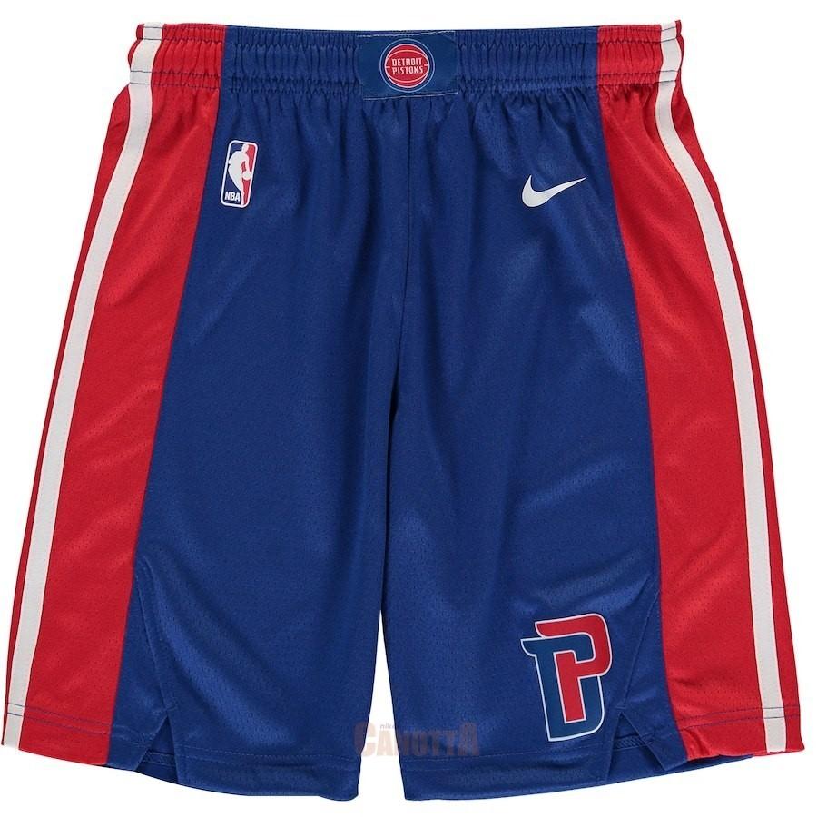 ... Replica Pantaloni Basket Bambino Detroit Pistons Nike Blu 2018 ... 918e1ceb0811