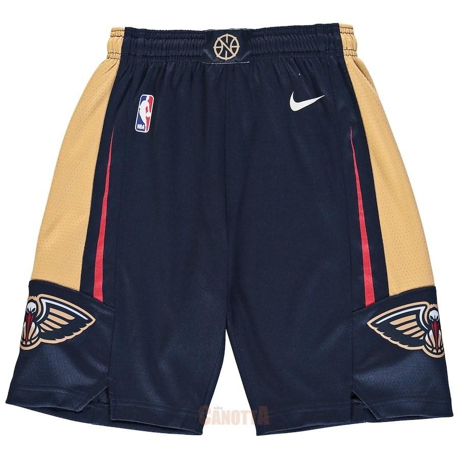 Replica Pantaloni Basket Bambino New Orleans Pelicans Nike Marino Icon 2018 c227ce5f2cf6
