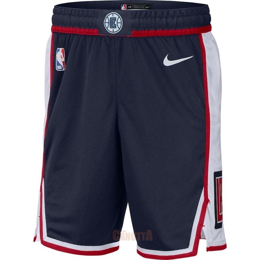 86ae2ad21f Replica Pantaloni Basket Los Angeles Clippers Nike Marino Città 2018 ...