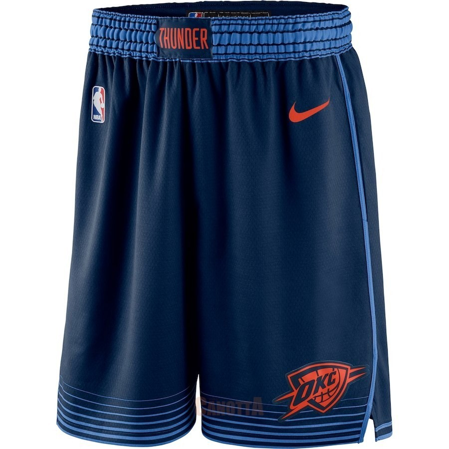 Replica Pantaloni Basket Oklahoma City Thunder Nike Marino Statement 2018