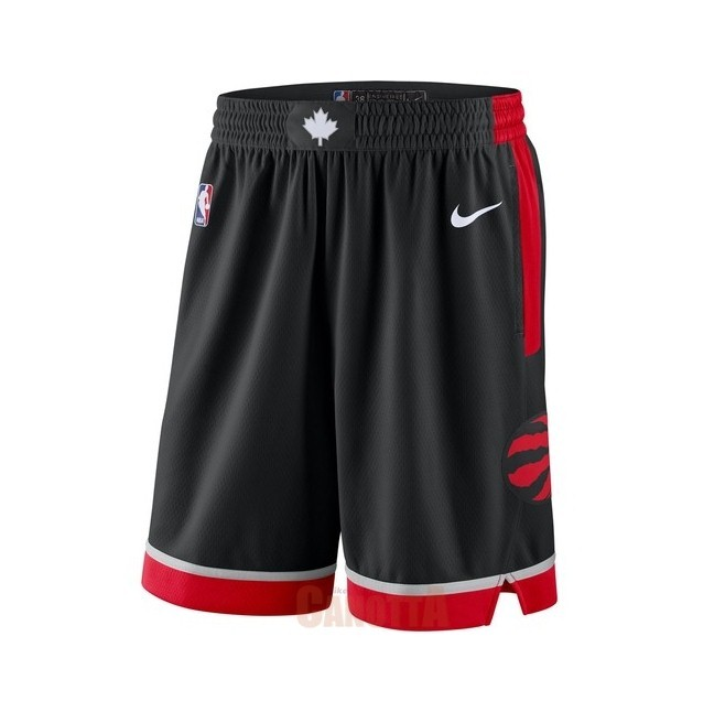 Replica Pantaloni Basket Toronto Raptors Nike Nero Statement 2018