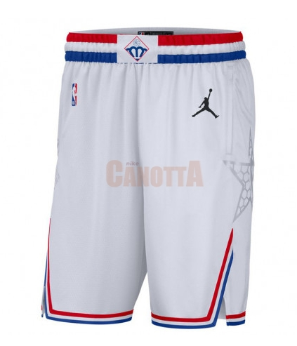 Replica Pantaloncini NBA 2019 All Star Bianco