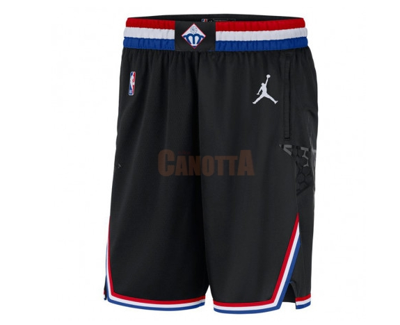 Replica Pantaloni Basket 2019 All Star Nero