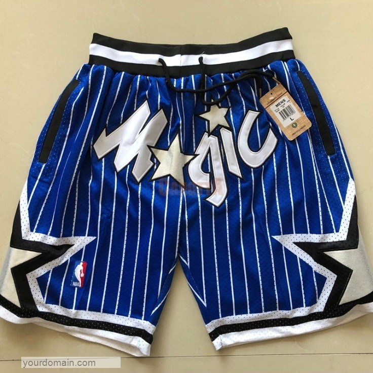 Replica Pantaloni Basket Orlando Magic Blu