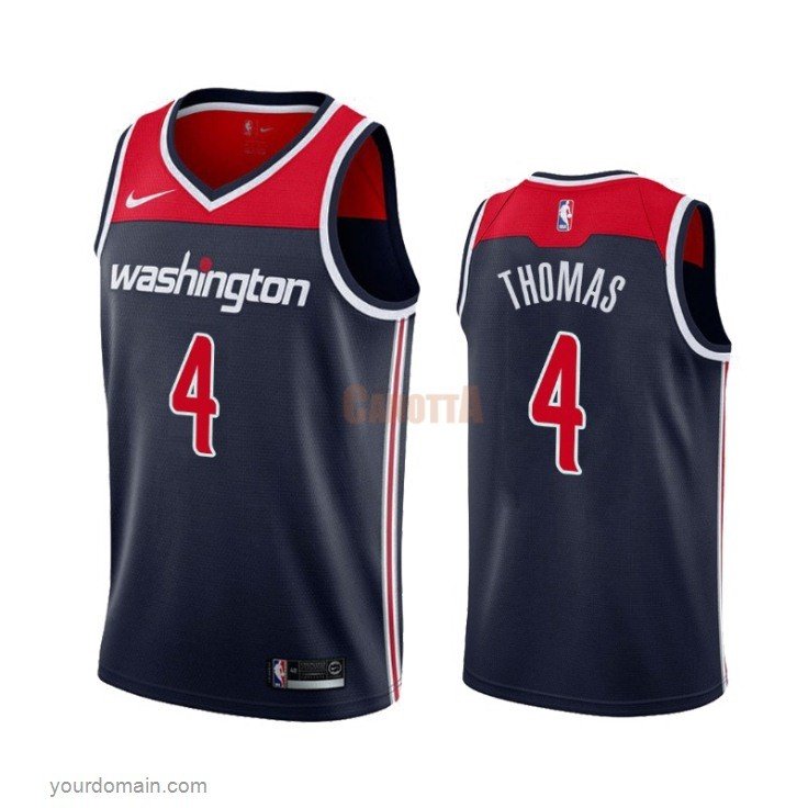 Replica Maglia NBA Nike Washington Wizards NO.4 Isaiah Thomas Marino Statement 2019-20