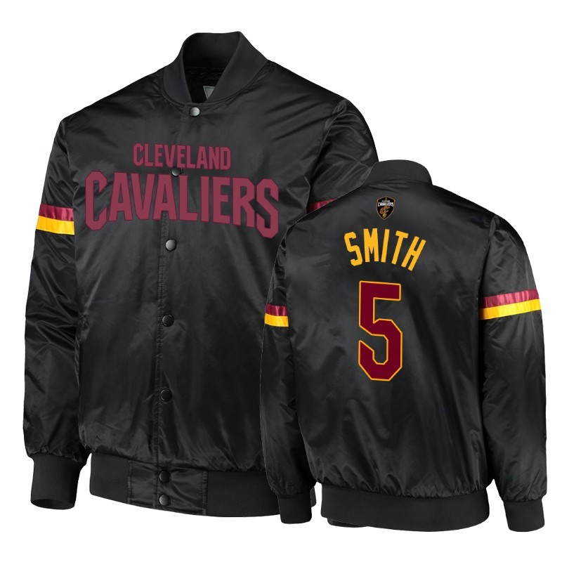 Replica Giacca NBA Cleveland Cavaliers NO.5 J.R. Smith Nero