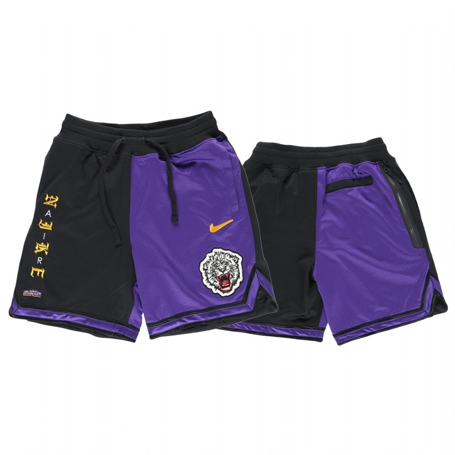 Replica Pantaloni Basket Los Angeles Lakers Nike Pourpre