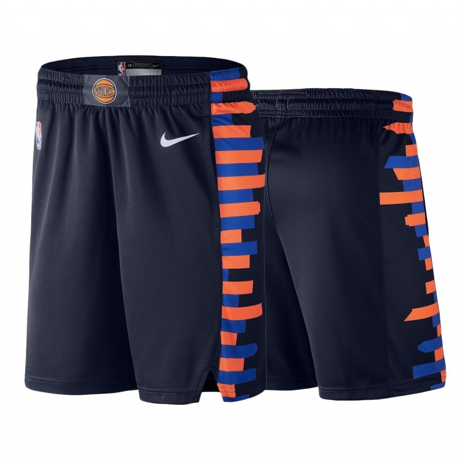 Replica Pantaloni Basket New York Knicks Nike Marino