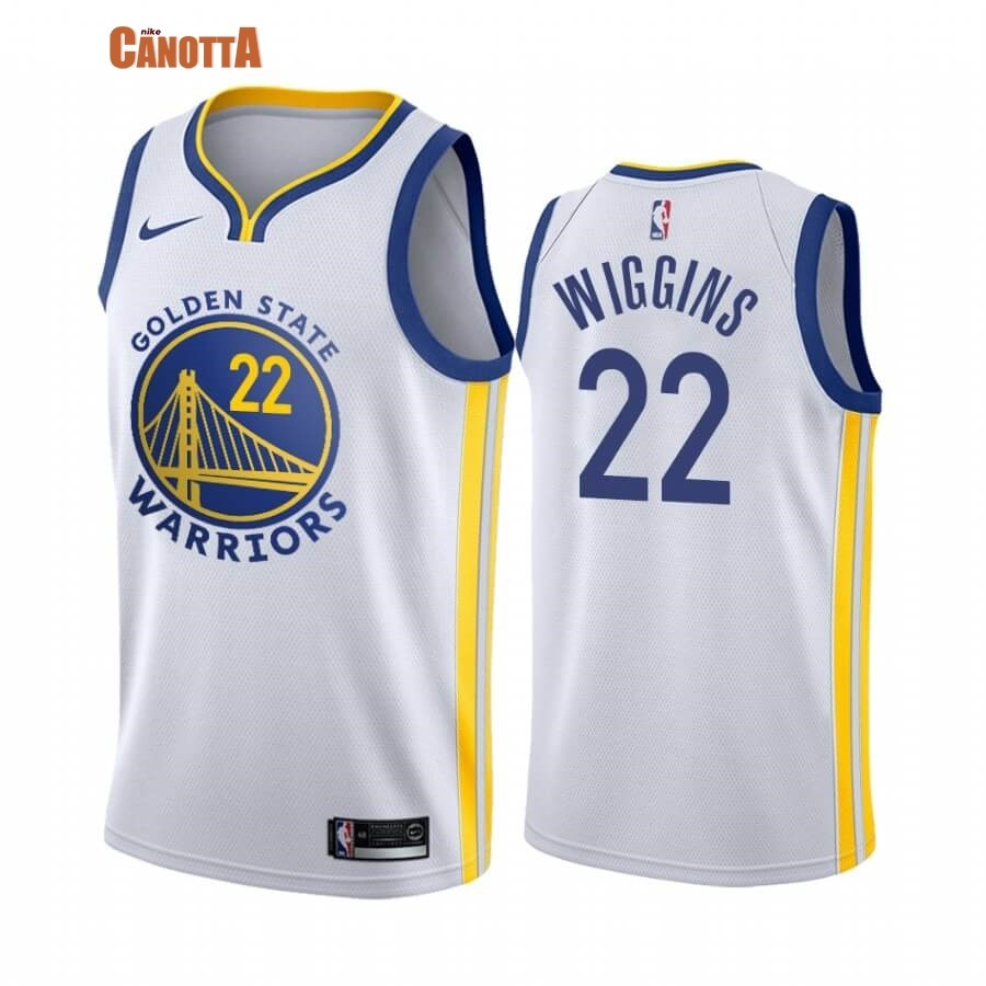 Replica Maglia NBA Nike Miami Heat NO.22 Andrew Wiggins Bianco Association 2019-20