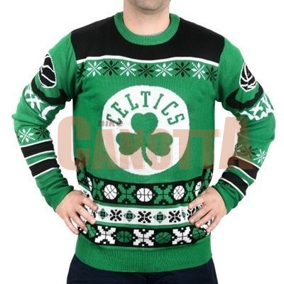 Replica Maglione Ugly Unisex Boston Celtics Verde
