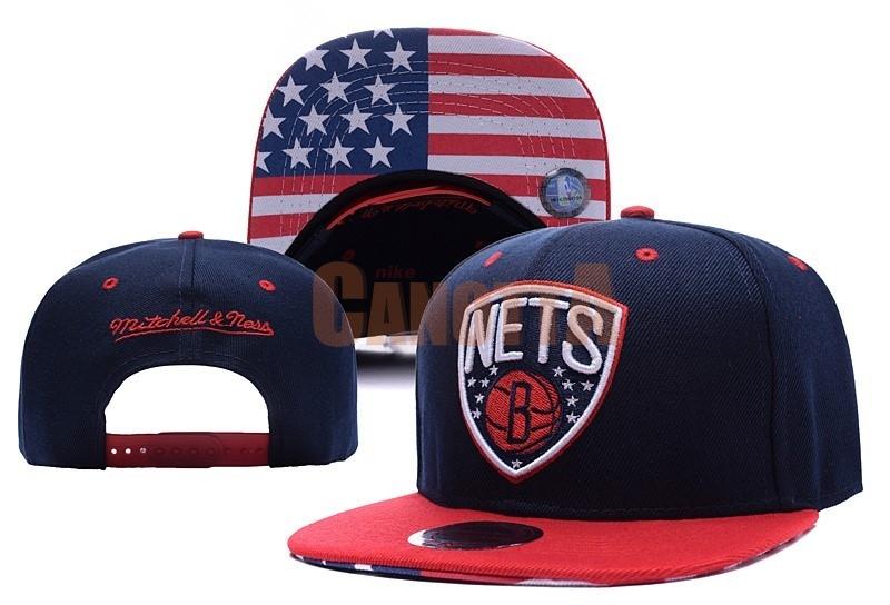 Replica Cappelli 2016 Brooklyn Nets USA Bandiera Nero 9cb2814b24e1
