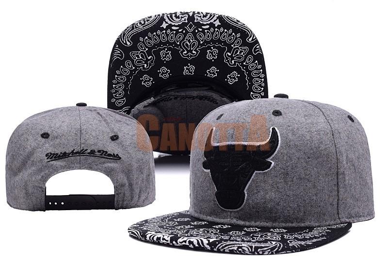 Replica Cappelli 2016 Chicago Bulls Grigio 002  ba5b10d2dc70