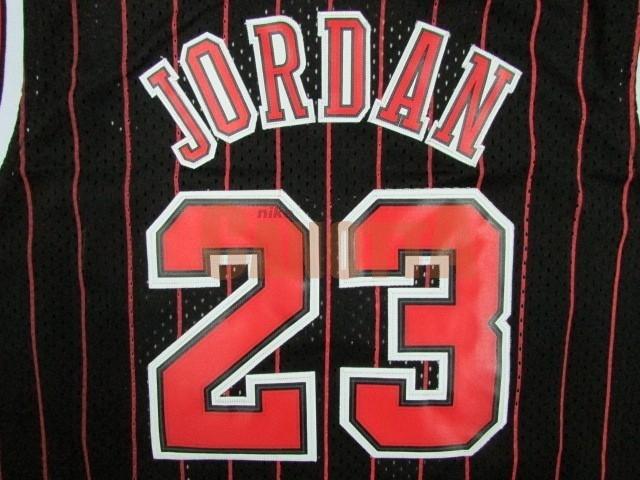 ... Replica Maglia NBA Bambino Chicago Bulls NO.23 Michael Jordan Nero  Striscia ... 5528a4d27e27