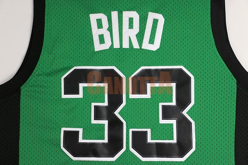 ... Replica Maglia NBA Boston Celtics No.33 Larry Joe Bird Verde Nero ... 1ccababf1462