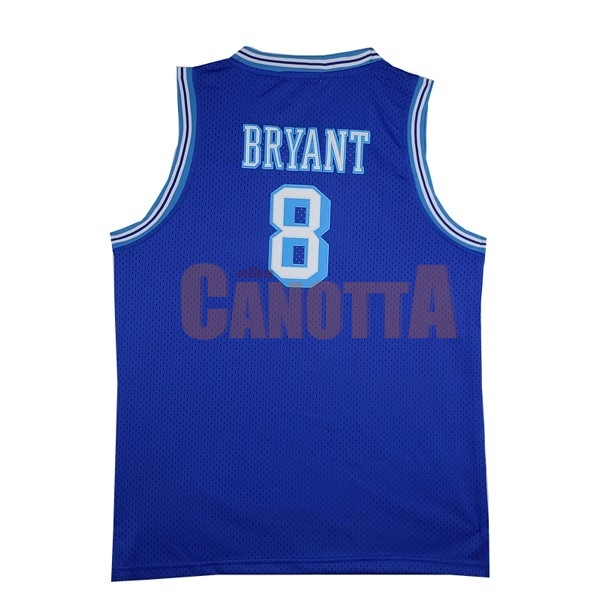 Replica Maglia NBA Los Angeles Lakers NO.8 Kobe Bryant Blu