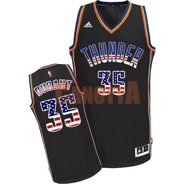 Replica Maglia NBA USA Flag Special Edition NO.35 Durant Nero