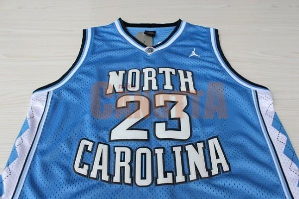 ... Replica Maglia NCAA North Carolina NO.23 Michael Jordan Blu ... f0be05300f5a