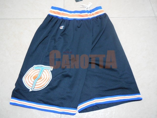 Replica Pantaloni Basket Film Basket Tune Squad Nero