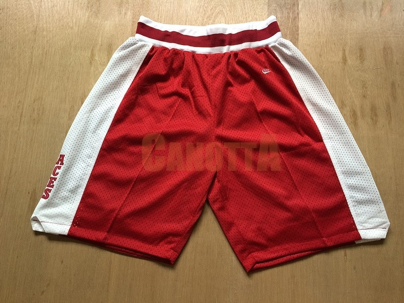 Replica Pantaloni Basket Lower Merion Rosso
