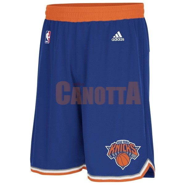 Replica Pantaloni Basket New York Knicks Blu
