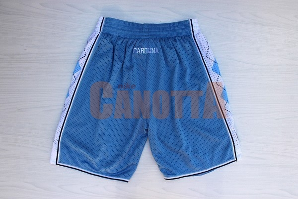 Replica Pantaloni Basket North Carolina Blu