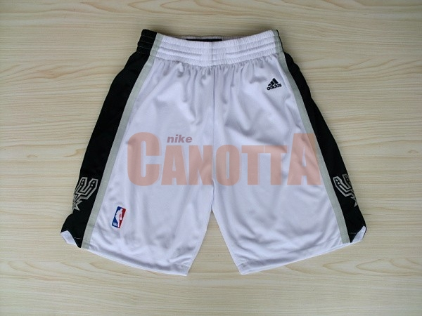 Replica Pantaloni Basket San Antonio Spurs Bianco