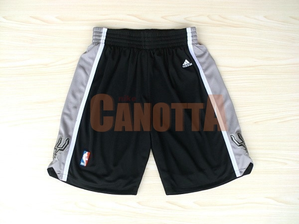 Replica Pantaloni Basket San Antonio Spurs Nero