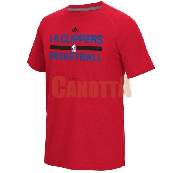 Replica T-Shirt Los Angeles Clippers Rosso 001