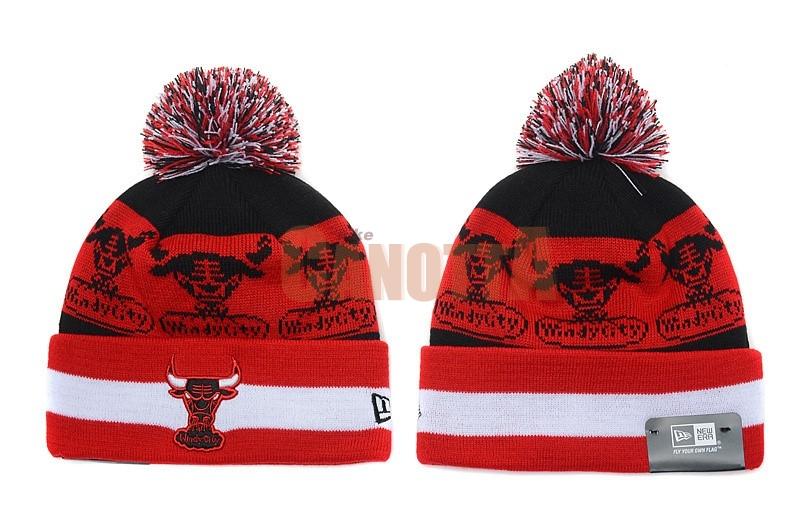 Replica Cappelli di lana 2017 Chicago Bulls Bianco Rosso  894f001061cf