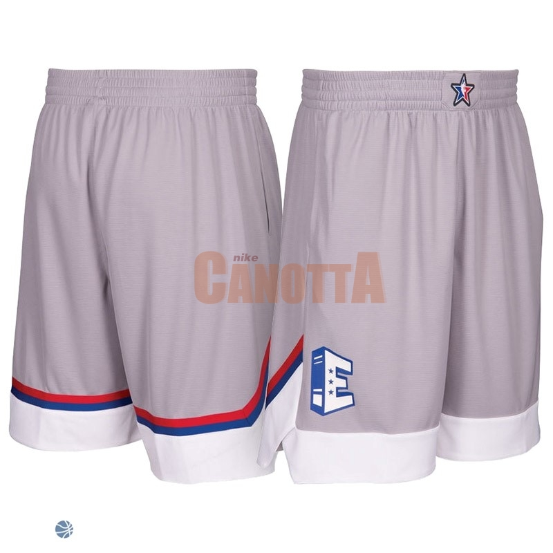 Replica Pantaloni Basket 2017 All Star Gray